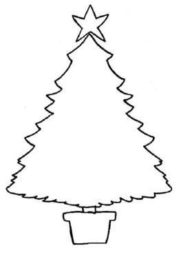 Weihnachtsbilder zum ausmalen stern