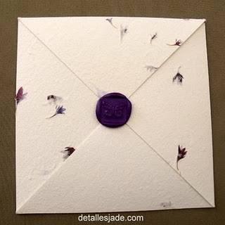 ... ver ese par de ideas con sellos de mariposa en imitación lacre