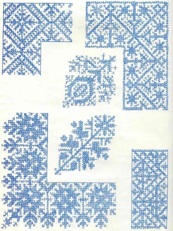 en punto marroquí, consultando el artículo Técnicas de bordado
