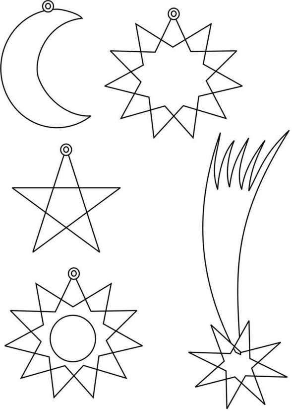 Decoración para el árbol de Navidad : Plantillas y patrones
