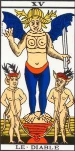 Iblis, el demonio, luzbel, lucifer o el maligno y obscuro Satan !!!! - Página 2 Arcano-mayor-el-diablo