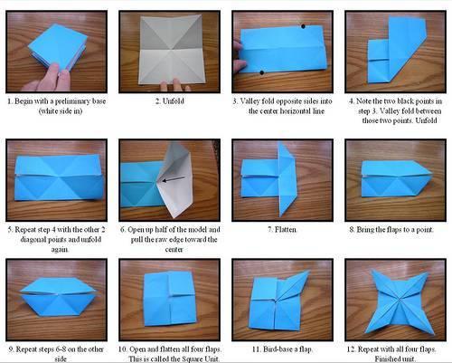 Figuras Origamis F  Cilmente  Siguiendo Las Instrucciones Paso A Paso