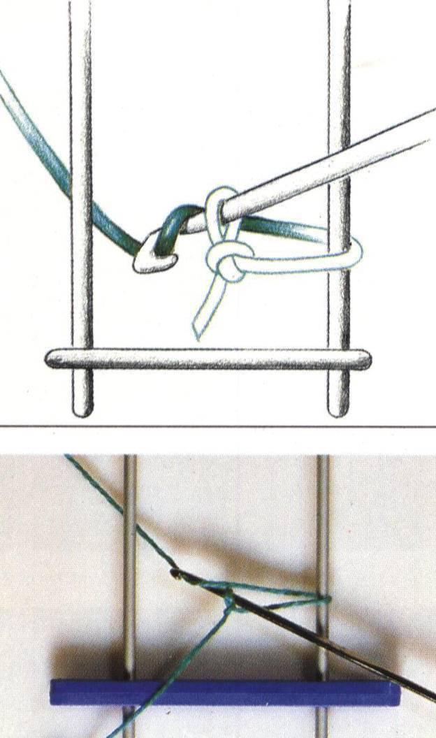 Tejido de ganchillo con horquilla :: Tejer a crochet con horquilla ...