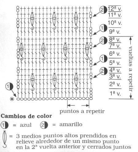 Patrones Crochet Bicolor2jpg