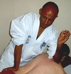 Masaje shiatsu