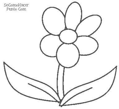 desenho de flores para imprimir e colorir innatia com