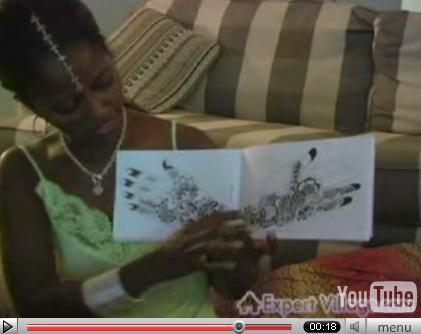 plantillas tatuajes. Nakia mostrando plantillas de diseños árabes