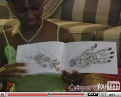 tatuajes y sus riesgos. Un tatuaje de henna.HERALDO - Sanidad alerta de los riesgos de la henna